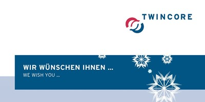 Weihnachtskarten Plus.10th Twincore Anniversary Home Twincore